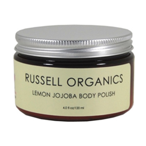 Russell Organics Natural Lemon Jojoba Body Polish
