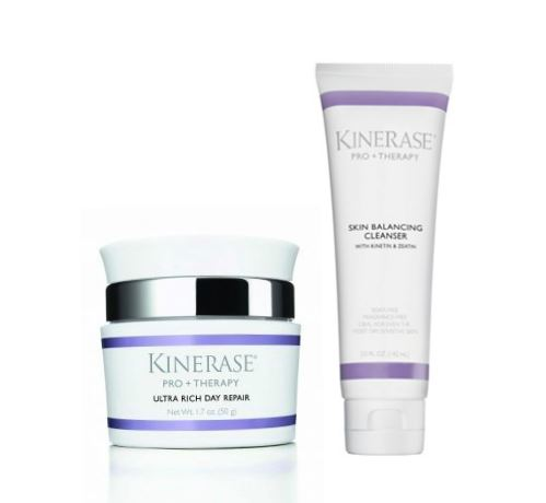 Kinerase Pro+Therapy Ultra Rich Day Repair Cream & Cleanser Set