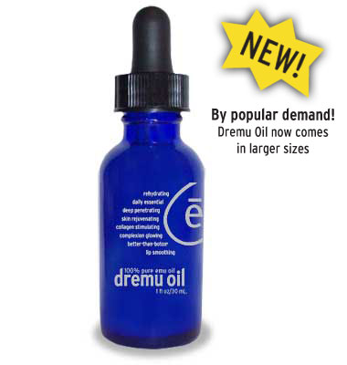 Dremu Triple Refined Pure Emu Oil