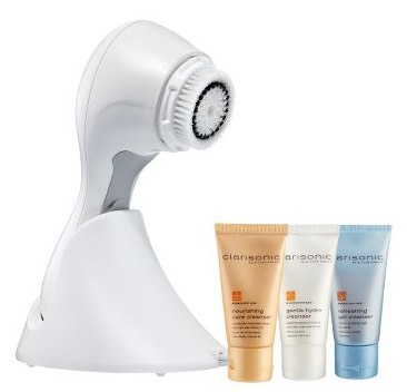 Clarisonic Skin Care Brush Kit System - (w/3 cleansers)