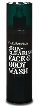 Clark's Botanicals Skin Clearing Face & Body Wash