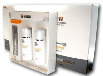 Hair Loss/Restoration Microneedle Skin Roller & Complex Kit