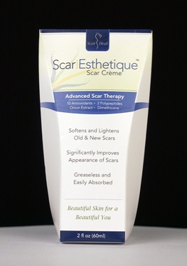 Scar Esthetique Healing & Reduction Cream - 60ml (w/Silicone, Peptides, Antioxidants & Over 20 Vital Ingredients)
