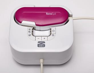 Silk'n SensEpil Face & Body Permanent Hair Removal Home Device (w/ 1500 pulse cartridge capacity - $45 Value)