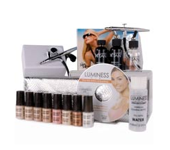 Luminess Premium Airbrush Makeup System (Fair,Medium,Tan,Dark)
