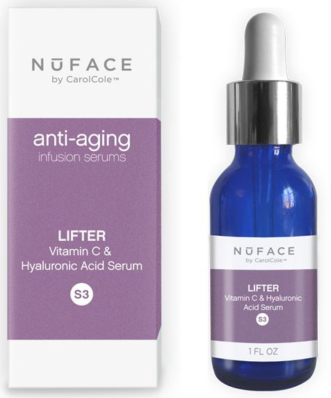 NuFACE Lifter- Vitamin C & Hyaluronic Acid Serum