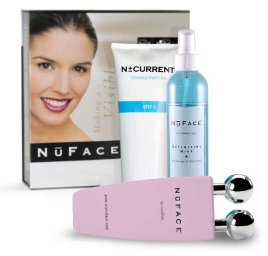 NuFace Skin Toning & Wrinkles Microcurrent Device (w/free Optimizing Mist & Gel)