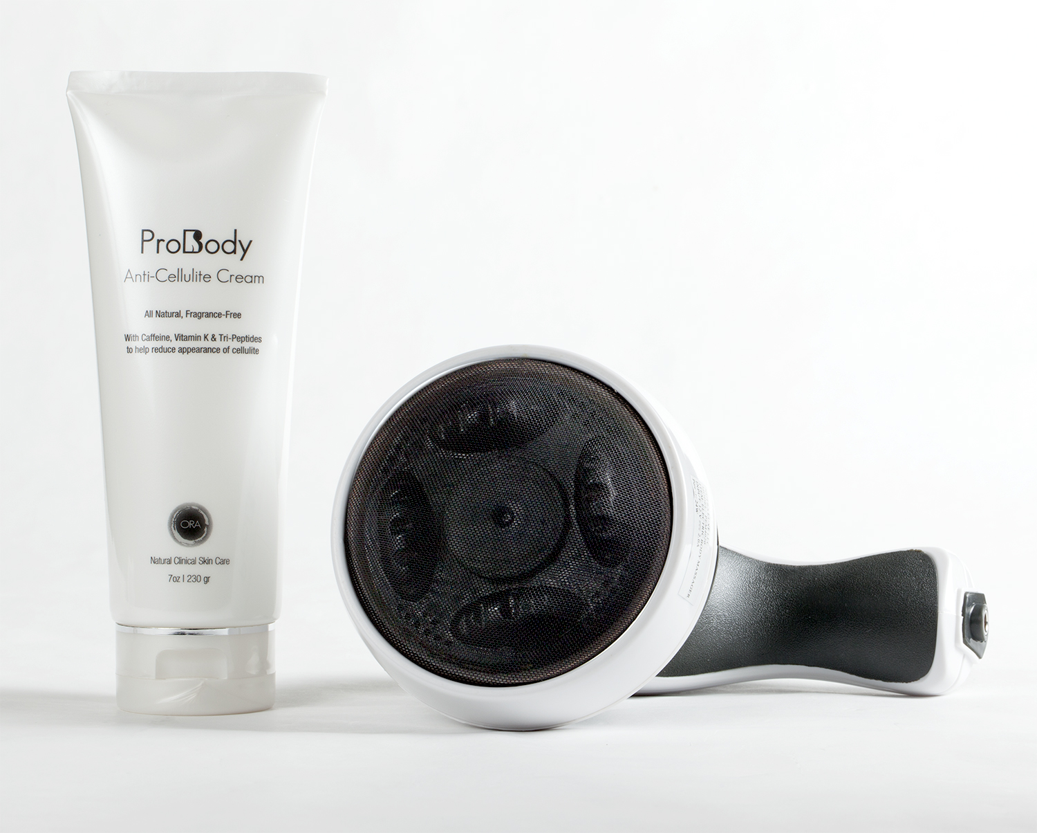 ProBody Slim & Shape Anti-Cellulite Massager System (w/ FREE 7 oz Anti-Cellulite Cream - $49 Value)