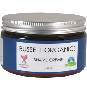 Russell Organics Natural Moisturizing Shave Creme