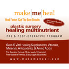 Makemeheal.com Soothing Eyelid Surgery Recovery and Survival Kit