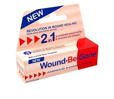 Wound-Be-Gone Hydrophilic Scar Gel