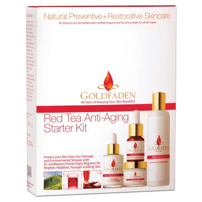 GoldFaden Red Tea Anti-Aging Starter Kit (4 Products)