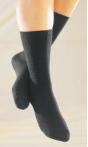 Truform Unisex TruSoft Diabetic Mid-Calf Socks - 8-15 mmHg - 1912