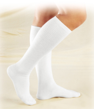 Truform Unisex TruSoft Diabetic Over-The-Calf Socks - 8-15 mmHg - 1913