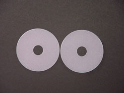"Biodermis/Epi-Derm Breast Areola Scar Reduction Silicone 3"" Circles (Pair) - 5 PACK (Self-Adhesive)"