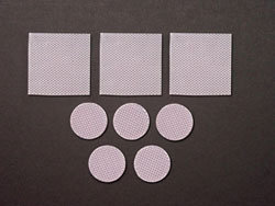 Biodermis/Epi-Derm Scar Reduction Silicone Squares or Circles (6 pieces) - 5 PACK (Self-Adhesive)