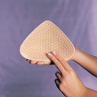 Amoena Tria Contact Light Attachable Breast Form , With Comfort + (Includes Cleaning Supplies & Gel
