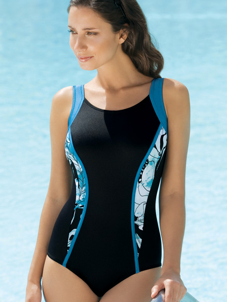 Amoena Southport CB Racing Tank Swimsuit