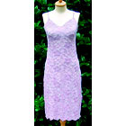 Laura Lilac Lace Nightgown