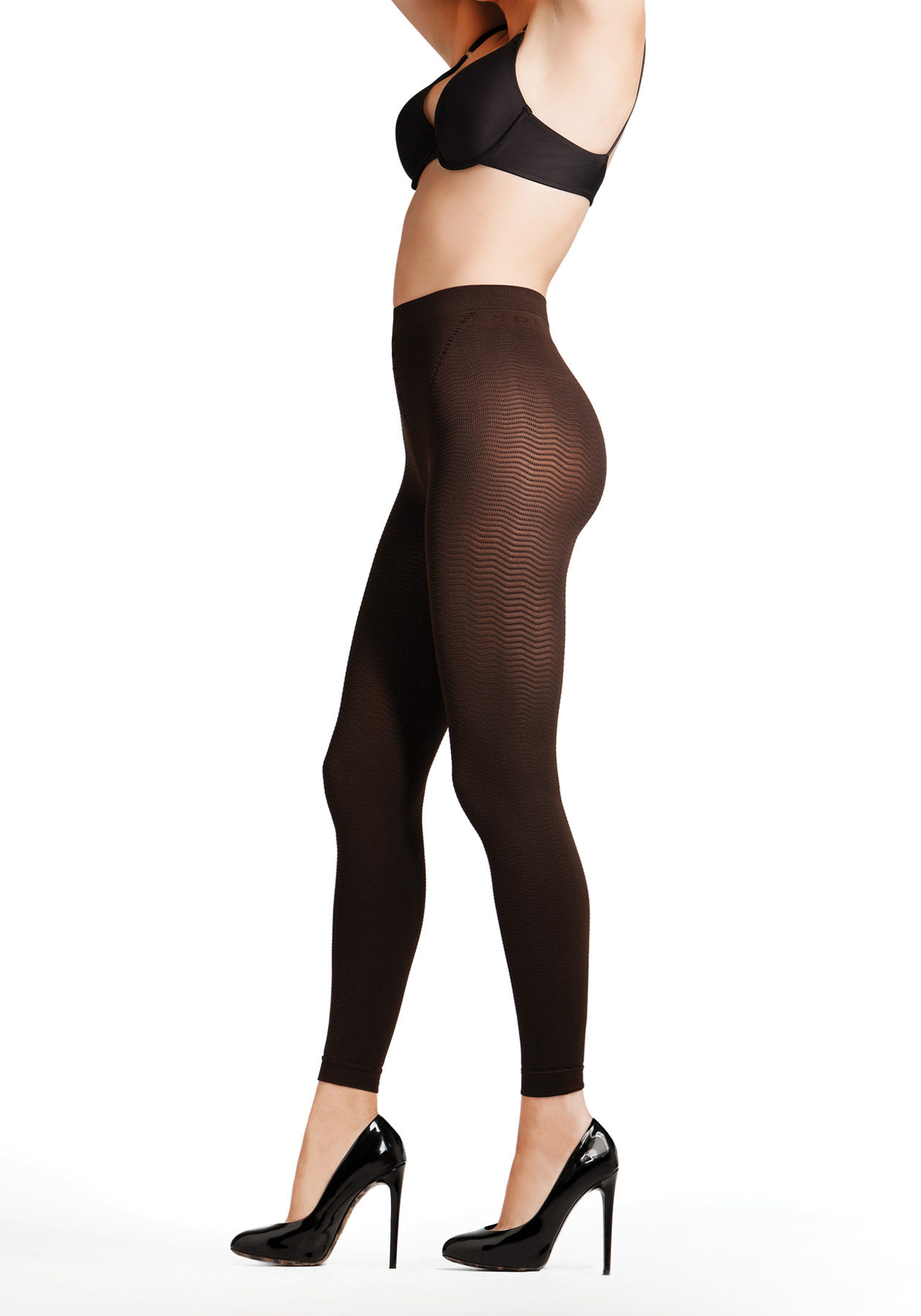 Solidea Anti-Cellulite Silver Wave Long Leggings