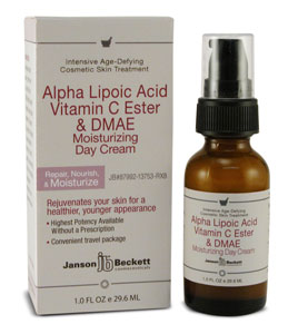 Alpha Lipoic, Vitamin C, DMAE Day Cream (Janson Beckett) - NEW!