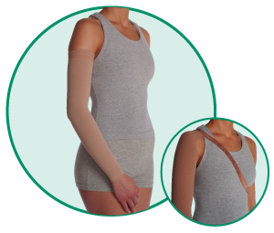Juzo Varin Soft-In Armsleeve With Strap (20-30 /30-40 mmHg)