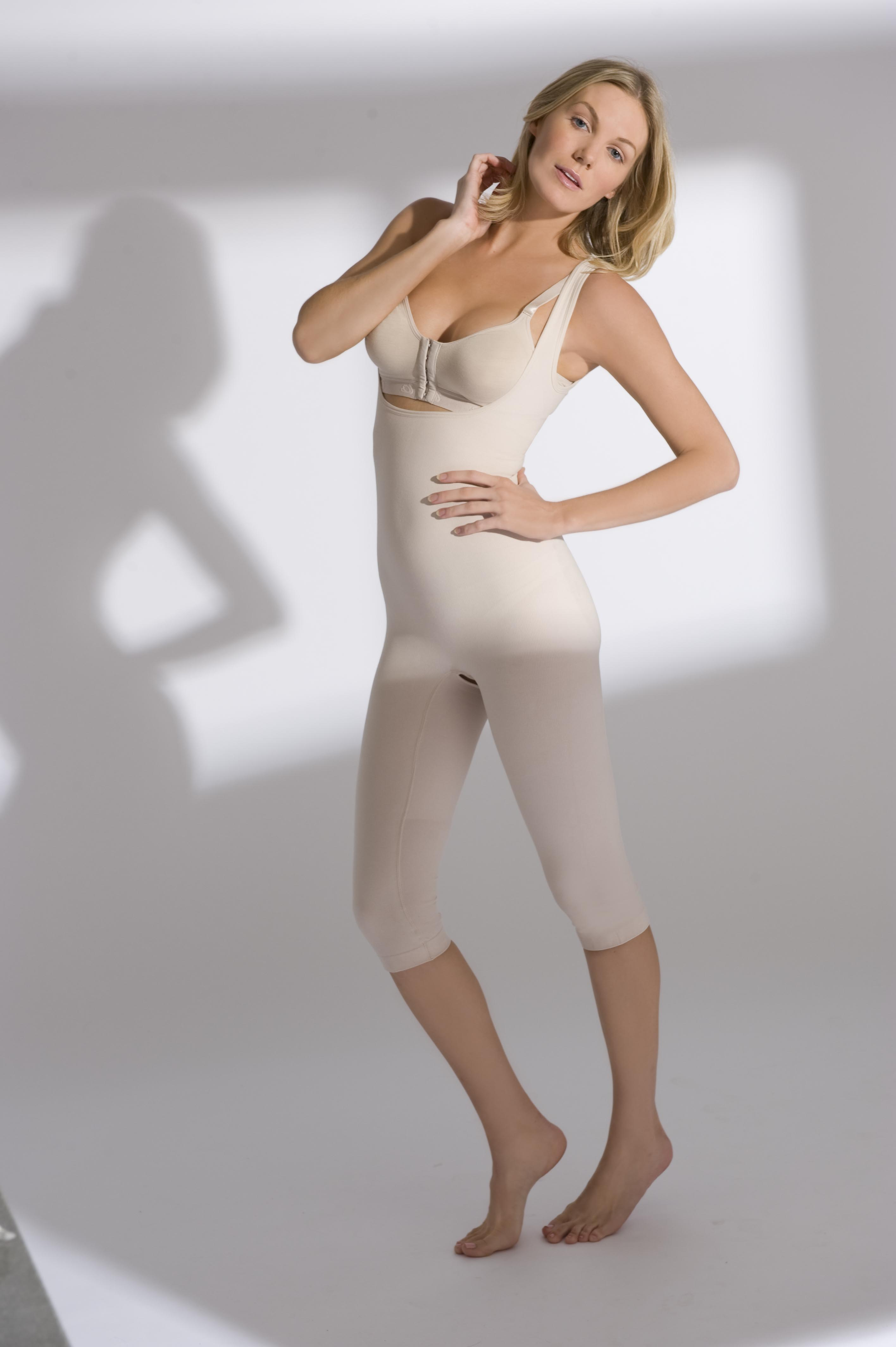 Annette Renolife Full Body Below Knee Compression Girdle