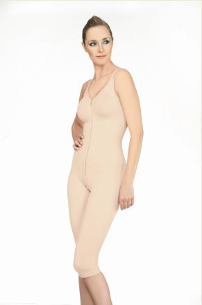 Annette Seamless Full Body Knee Length Compression Garment (w/ SeaKelp Micronutrients)