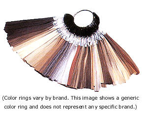 Look of Love Human Hair Color Ring