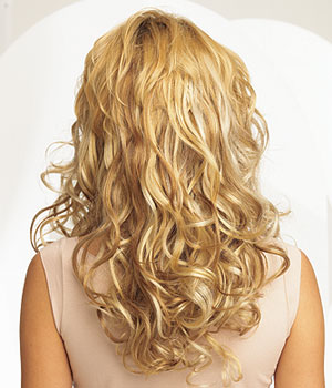 Ten Piece Wavy Clip-In Extensions Set by Put On Pieces