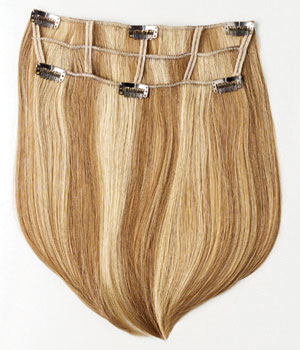 Two-Piece Straight System Hair Add-On by Put On Pieces