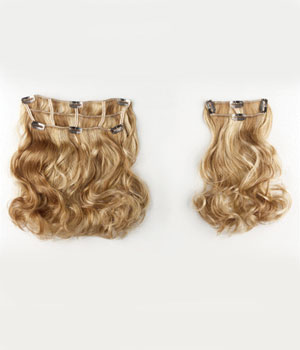 Two-Piece Wavy System Hair Add-On by Put On Pieces