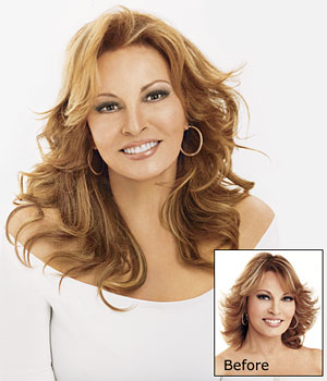 TWO-PIECE CLIP-IN EXTENSION SYSTEM by Raquel Welch