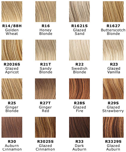 Hair U Wear Color Chart