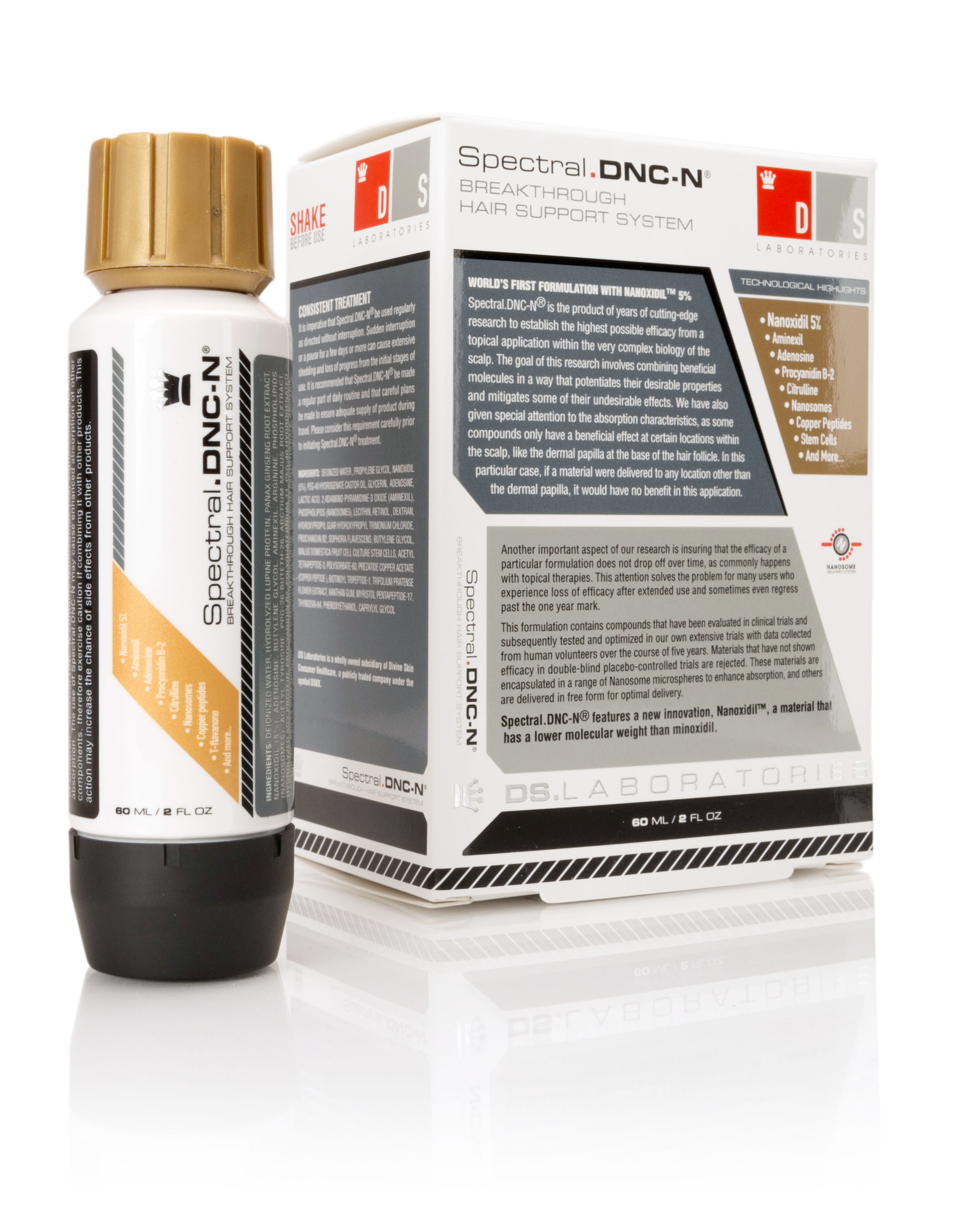 DS Laboratories Spectral DNC-N Hair Loss Solution
