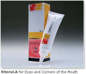 DS Laboratories Viterol.A - Anti Aging Cream For Eyes and Corner of the Mouth
