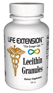 Life Extension Lecithin Granules 16 oz