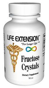 Life Extension Fructose Crystals 16 oz
