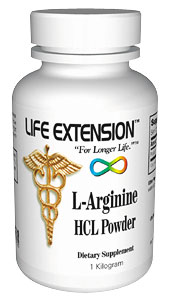 Life Extension Arginine Hcl Powder 1 kilo