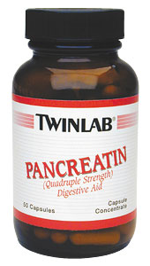 Life Extension Pancreatin Capsules 50 500 mg