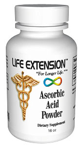 Life Extension Vitamin C Powder 16 oz