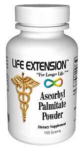 Life Extension Ascorbyl Palmitate Powder  300 grams