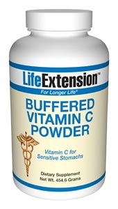 Life Extension Buffered C Powder 454.6 grams