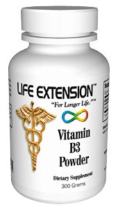 Life Extension B3 300 grams Powder