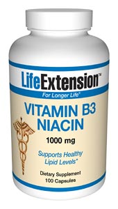 Life Extension B3 1000 mg Capsules