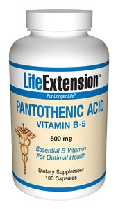 Life Extension B5 500 mgs 100 Capsules