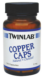 Life Extension Copper Caps 2ms 100 Capsules