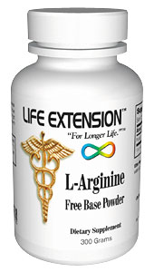 Life Extension Arginine Free Base 300 grams Powder