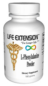 Life Extension L Phenylalanine 100 grams Powder