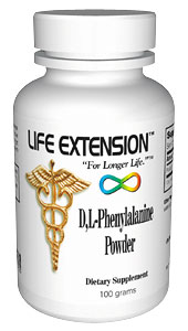 Life Extension Dl Phenylalanine 100 grams Powder